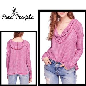 Just In! Free People Wildcat Thermal, Rose, Sz XS